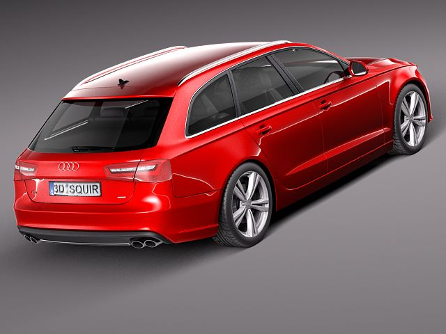 2012 Audi S6 Avant Wagon 5-door