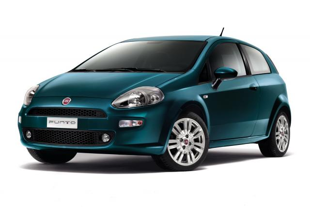 2012 Fiat Punto Hatchback 3-door