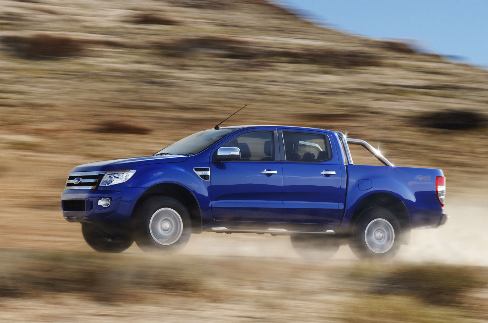 2012 Ford Ranger Double Cab Pick-up 4-door