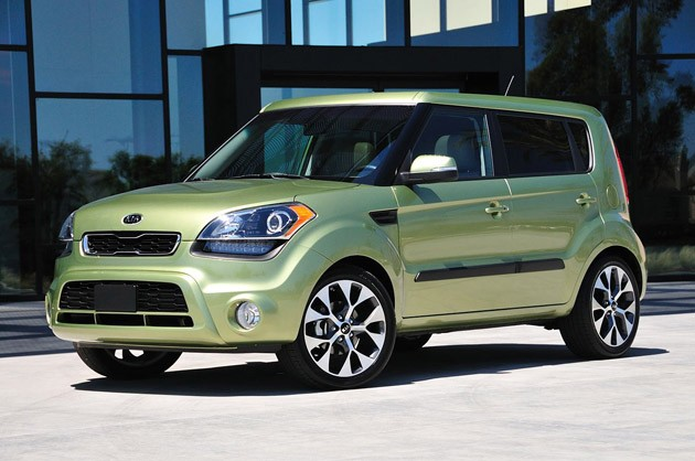 2012 Kia Soul Hatchback 5-door