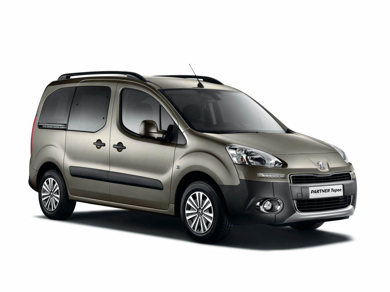 2012 Peugeot Partner Tepee Mpv 5-door