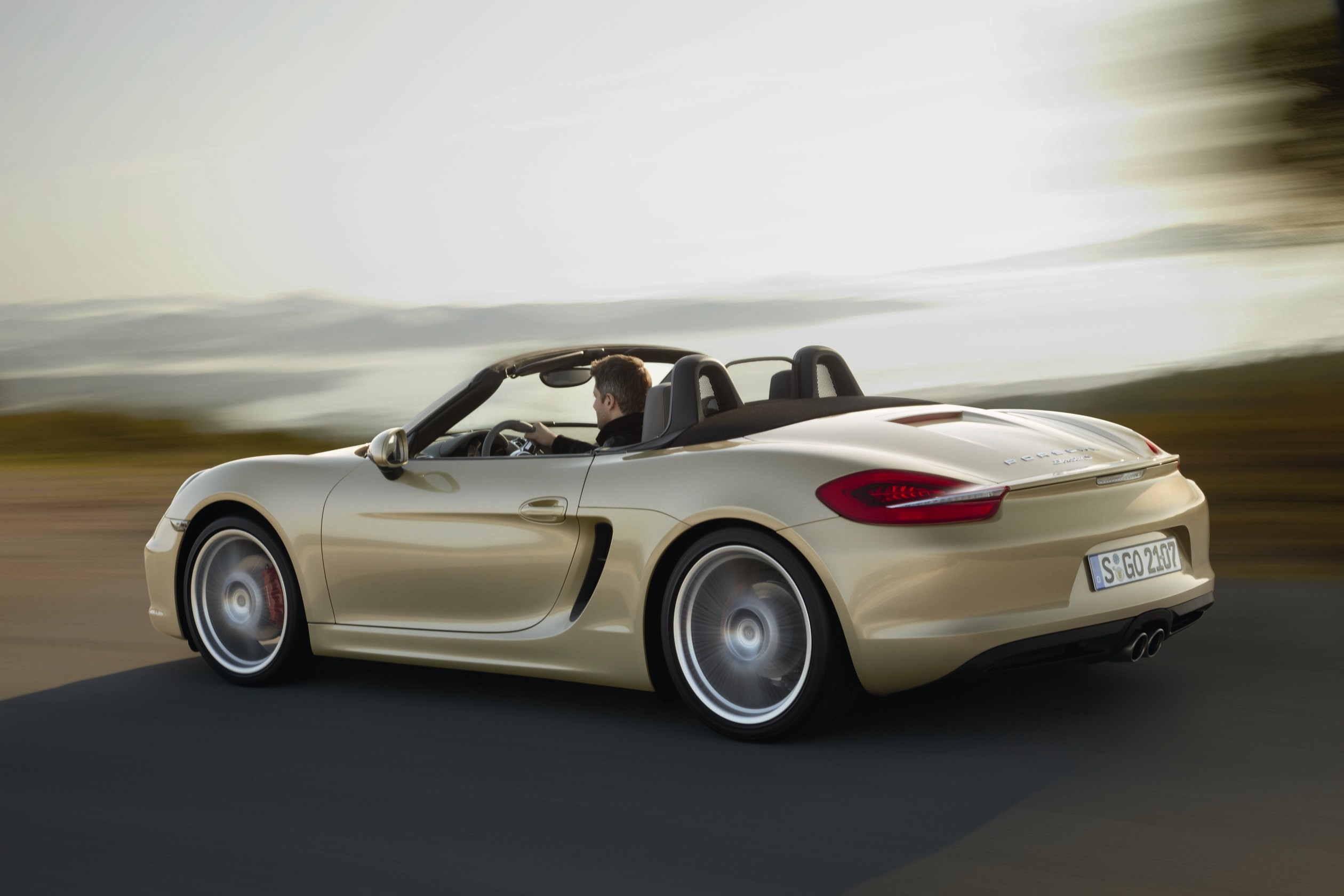 2012 Porsche Boxster Convertible 2-door