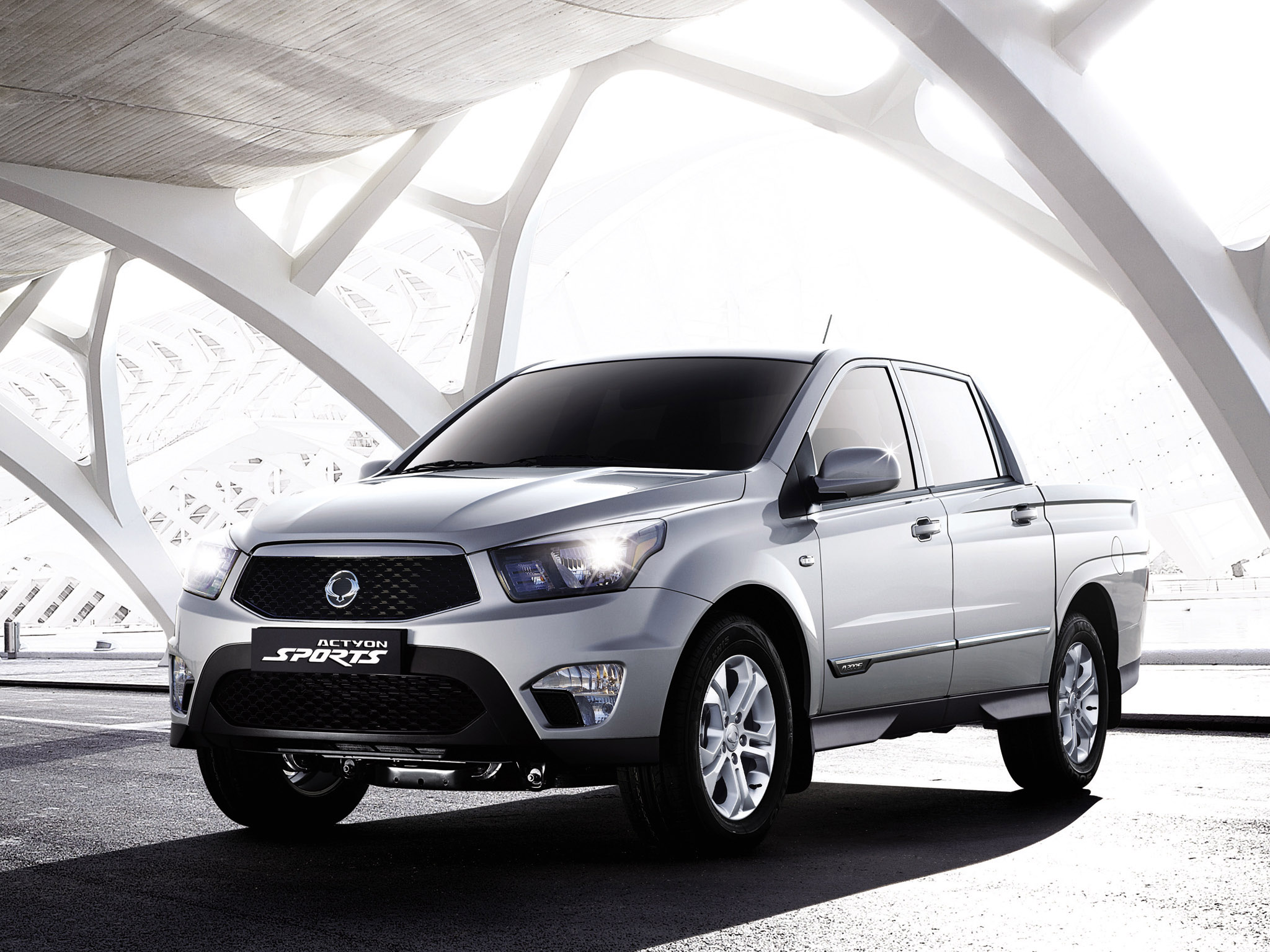 2012 SsangYong Ssangyong Actyon Sports Pick-up 4-door