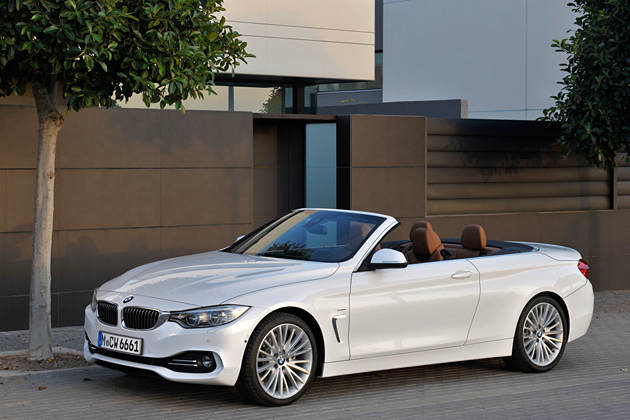 2014 BMW 4-serie Cabrio Convertible 2-door
