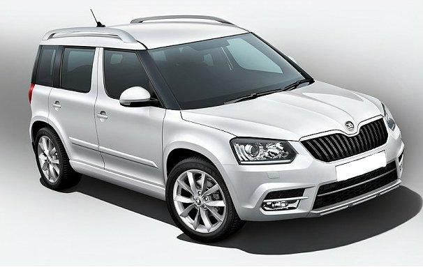 2014 Skoda Yeti Outdoor Suv 5-door