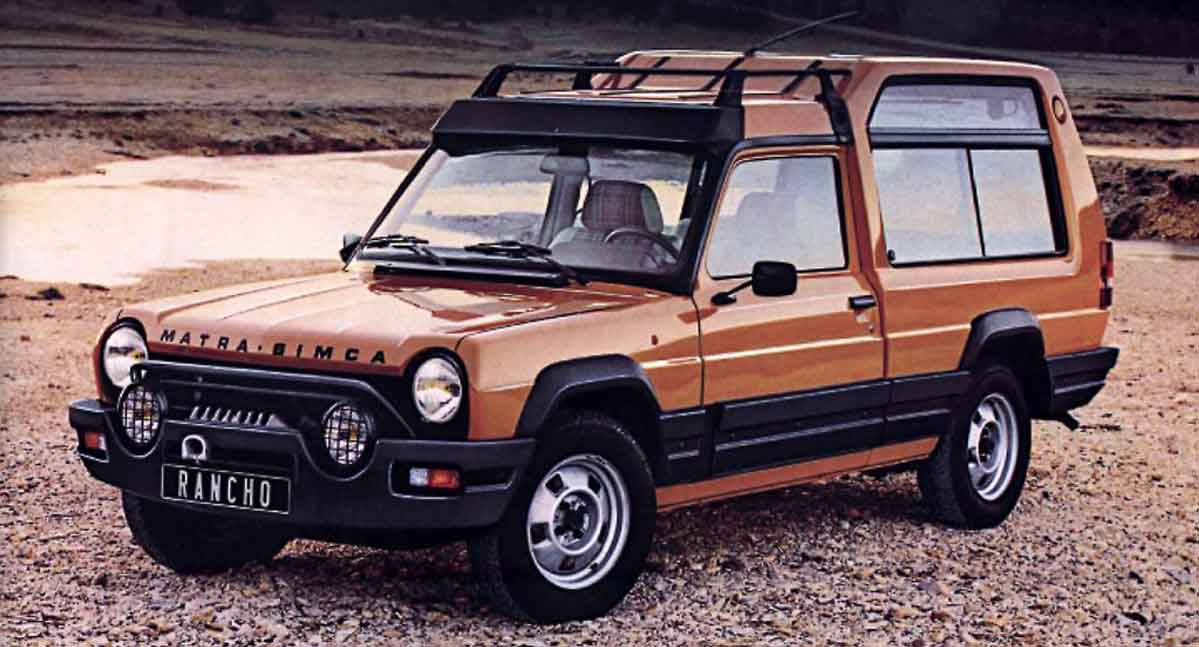 Talbot cars specifications technical data for Rancho motors used cars